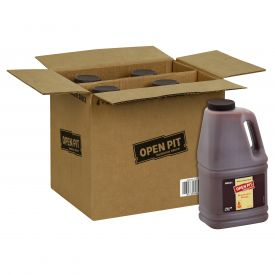 Open Pit Hickory Barbecue Sauce - 128 oz. containers per case