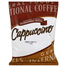 General Foods International Coffee French Vanilla Cappuccino Mix 2lb.