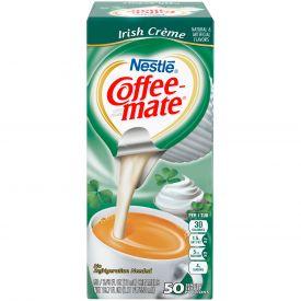 Coffee-Mate Individual Irish Creme Liquid Creamer .375oz.