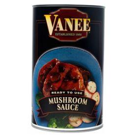 Vanee Mushroom Sauce, 50 oz