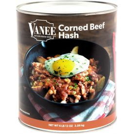 Vanee Corned Beef Hash 108oz.