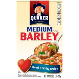 Quaker Medium Pearled Barley 1lb.