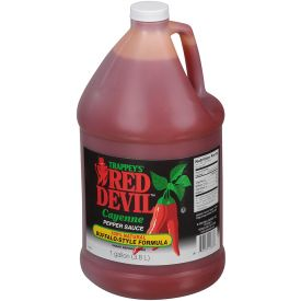 Trappey's Red Devil Buffalo Style Sauce 128oz.