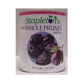 Stapleton Spence Stewed Pitted Prunes In Water 16oz.