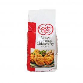 Golden Dipt Crispy Seasoned Chicken Fry Breading 5lb.