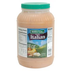 Hidden Valley Golden Italian Dressing, 128 oz