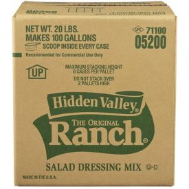 Hidden Valley Original Ranch Dressing Mix - 20 lb