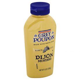 Grey Poupon Dijon Squeeze Mustard 10oz.
