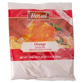 Royal Orange Gelatin Mix 24oz.