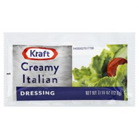 Kraft Creamy Italian Dressing - 12.4 gm