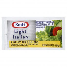 Kraft Light Done Right Italian Dressing - 12.4 gm