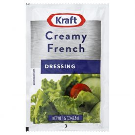 Kraft Fat-Free Creamy French Dressing - 1.5oz