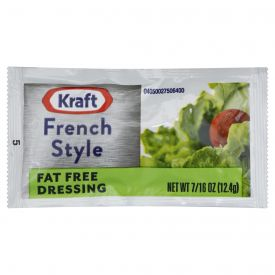 Kraft Fat-Free French Dressing, 12.4 gm