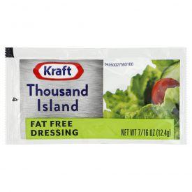 Kraft Fat-Free Thousand Island Dressing - 12.4gm