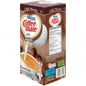 Coffee-Mate Cafe Mocha Liquid Creamer .375oz.