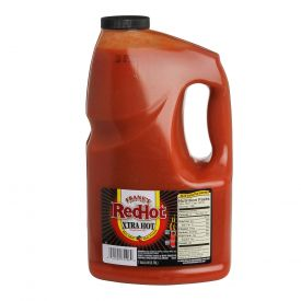 Frank's Redhot Extra Hot Cayenne Pepper Sauce 128oz.