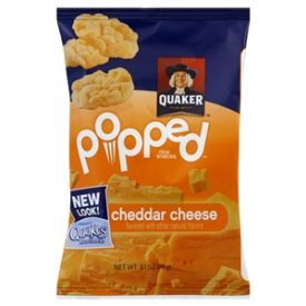 Quaker Mini Cheddar Rice Crisps - .67oz