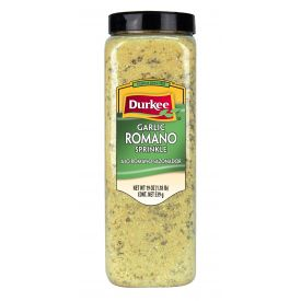 Durkee Garlic Romano Sprinkle - 19 oz