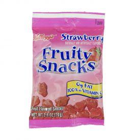 Kellogg Strawberry Fruity Snacks - 2.5oz
