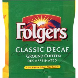 Folgers Classic Decaf Ground In-Room 0.6oz.