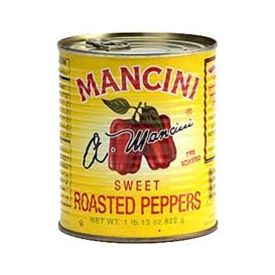 Mancini Roasted Red Peppers Can - 102oz