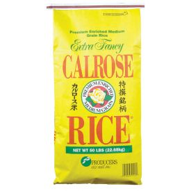 Producers Rice Mill Inc Calrose Medium Grain Milled Rice, 50 lb