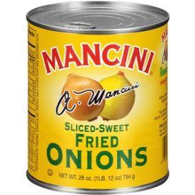 Mancini Fried Sliced Onions - 28oz