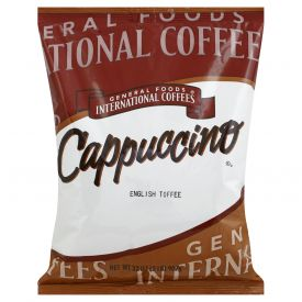 General Foods Cappuccino English Toffee 2lb.