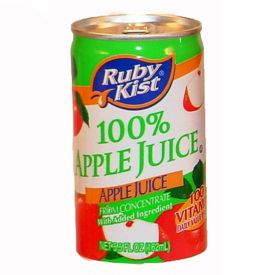 Ruby Kist Apple Juice 5.5oz.