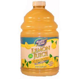 Ruby Kist Lemon Juice 1gal.