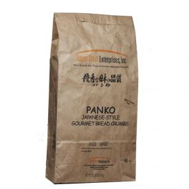 Upper Crust Panko Large Grind Authentic Japanese Bread Crumbs 20lb.