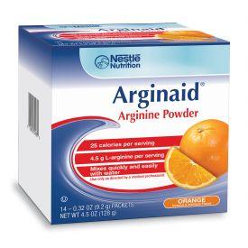 Nestle Arginaid Arginine Orange Powder Packets .32oz.