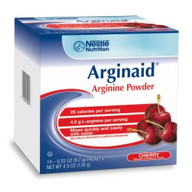 Nestle Arginaid Arginine Cherry Powder Packets .32oz.