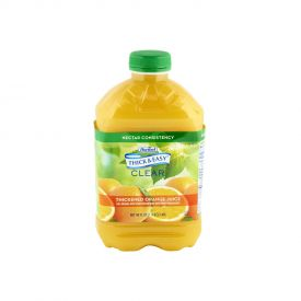 Thick & Easy Thickened Orange Juice Nectar Consistency 48oz.