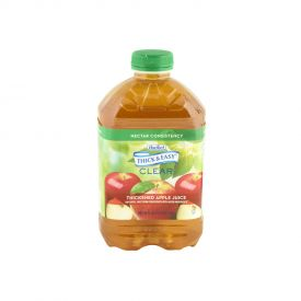 Thick & Easy Thickened Apple Juice Nectar Consistency 48oz.