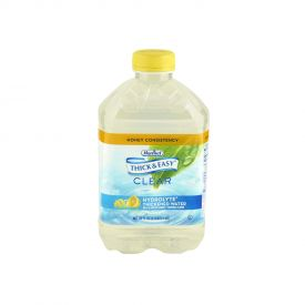 Thick & Easy Hydrolyte Thickened Water Honey Consistency 46oz.