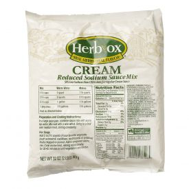Herb-Ox Reduced Sodium Cream Soup Mix 32oz.