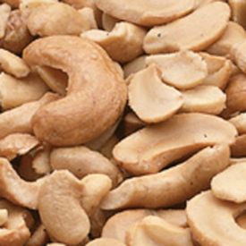 Party Choice Salted Raw Cashew Halves & Pieces 5lb.