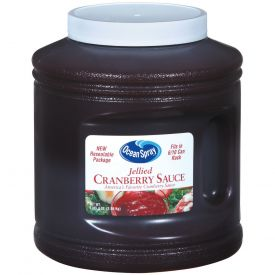 Ocean Spray Re-sealable Jellied Cranberry Sauce 101oz.