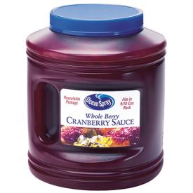 Ocean Spray Re-sealable Whole Cranberry Sauce 101oz.