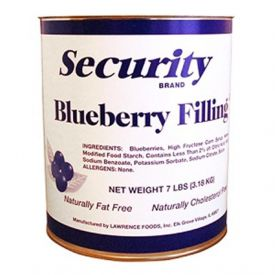 Security Blueberry Filling 7lb.