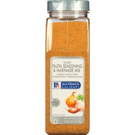 McCormick Savory Fajita Seasoning & Marinade Mix - 24 oz