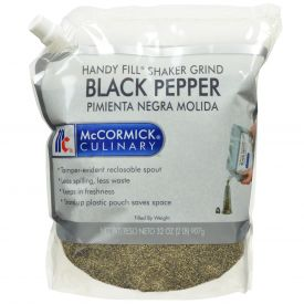 McCormick Shaker Grind Black Pepper Pouch - 2 lb