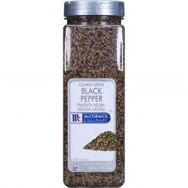 McCormick Coarse Ground Black Pepper - 1 lb