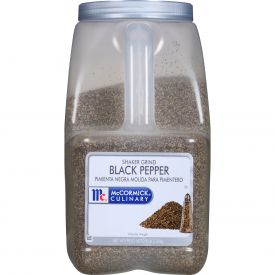 McCormick Shaker Ground Pepper Black - 5 lb
