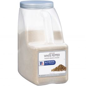 McCormick Ground White Pepper - 5 lb