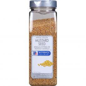 McCormick Whole Yellow Mustard Seeds - 22 oz
