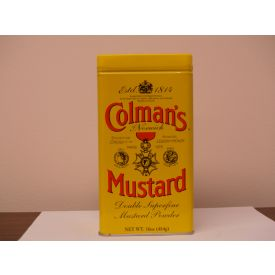 Colman's Dry Mustard Powder 16oz.