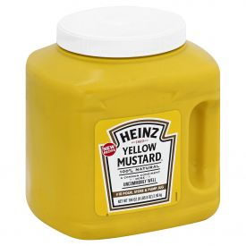 Heinz Yellow Mustard Jug 104oz.