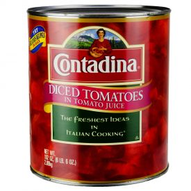 Contadina Diced in Tomatoes - 102oz.